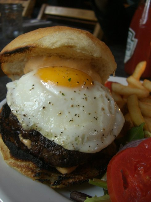The Five Leaves Burger